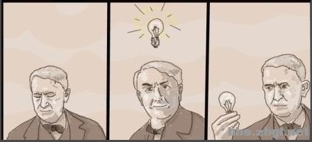 爱迪生是如何发明电灯的 Powered by Discuz
