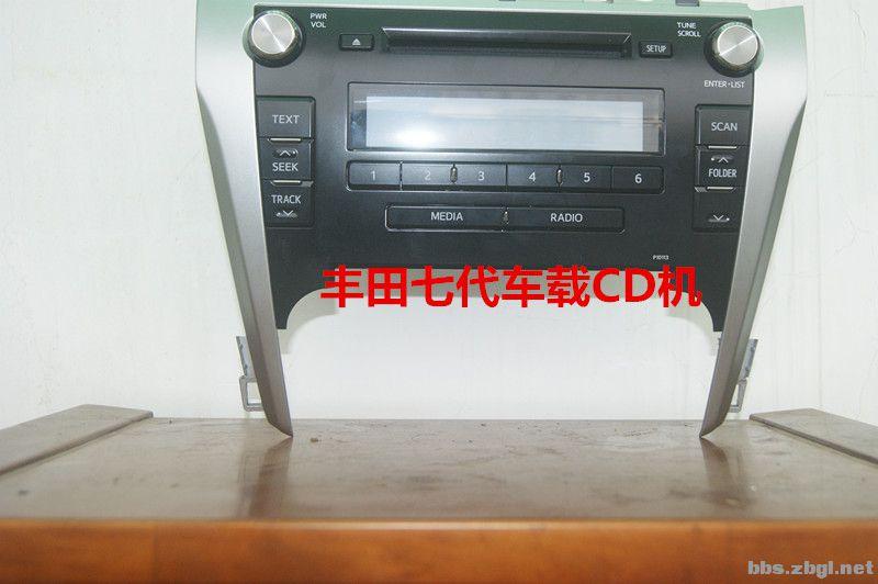丰田七代车载CD机高清图片