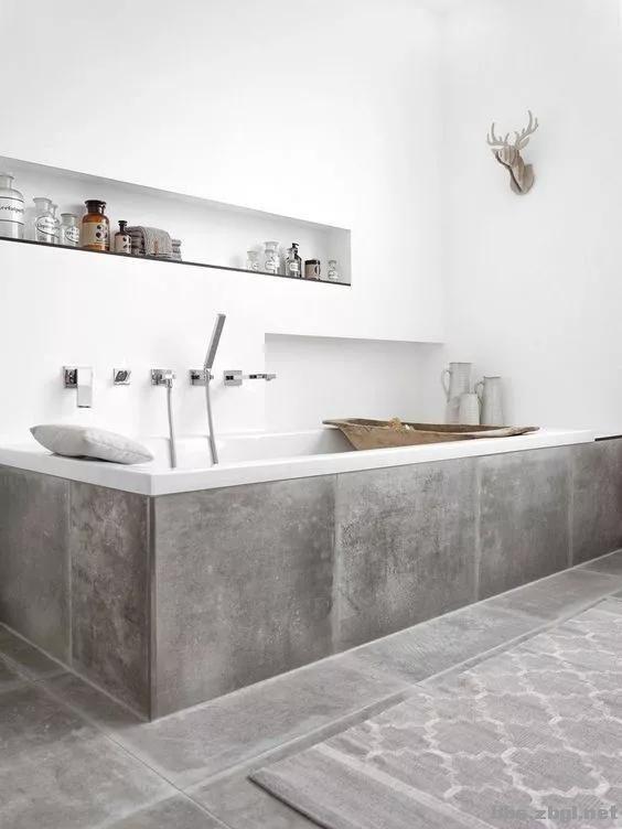 做了这么多年的卫生间施工设计,浴缸的这3种安装方式你知道吗?-20.jpg