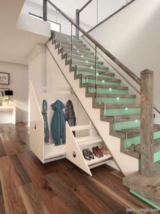 楼梯下的空间,设计师教你这样改造,让家瞬间增大5㎡-8.jpg
