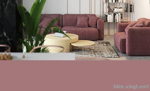 女生公寓的优雅高级配色,必须pick它——干枯玫瑰色-7.jpg