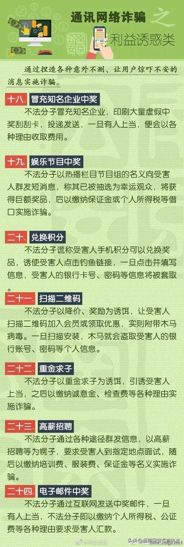 史上最全电信诈骗 58种诈骗手法9大类型 ????-4.jpg