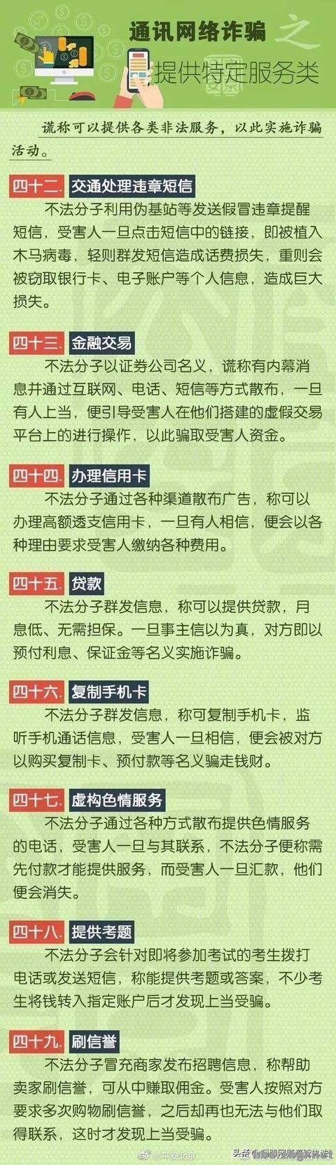 史上最全电信诈骗 58种诈骗手法9大类型 ????-7.jpg