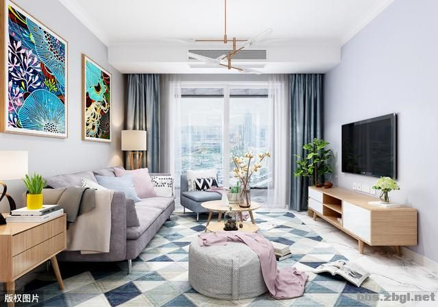 带有造型的吊顶和普通石膏线吊顶,哪个在客厅里会更实用?-3.jpg
