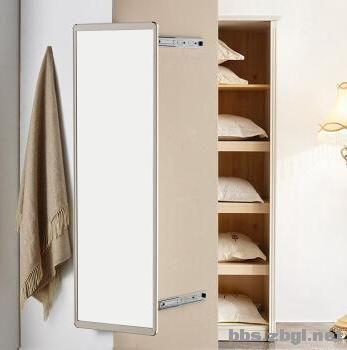 用心淘来的饰品难收纳,主卧门后的15cm做超薄柜,收纳效率超高-3.jpg