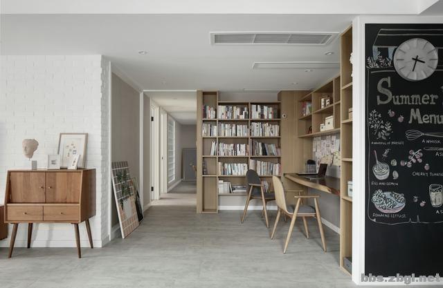 一梯两户打通,空间瞬间变大,这套北欧风格案例看着太美了-10.jpg
