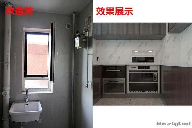 141㎡现代无主灯案例,电视墙用岩板+地台设计,邻居都来效仿-11.jpg
