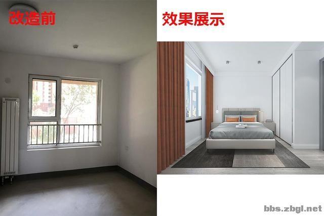 141㎡现代无主灯案例,电视墙用岩板+地台设计,邻居都来效仿-15.jpg