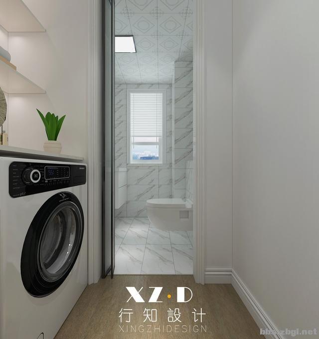 设计案例:济南财富壹号轻奢法式风格,壁炉造型电视墙简洁又漂亮-21.jpg