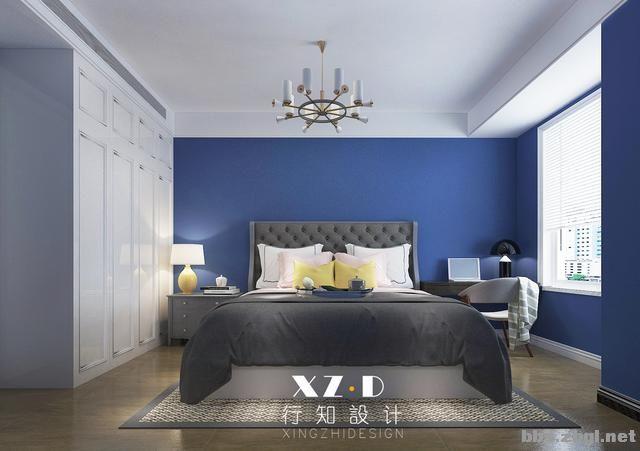 设计案例:济南财富壹号轻奢法式风格,壁炉造型电视墙简洁又漂亮-23.jpg