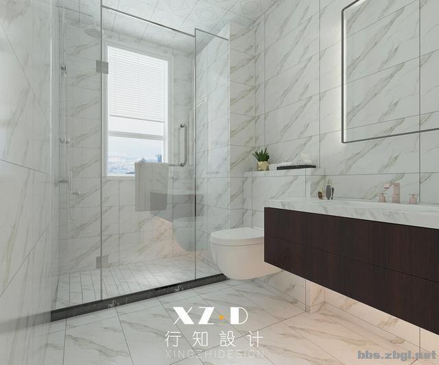 设计案例:济南财富壹号轻奢法式风格,壁炉造型电视墙简洁又漂亮-27.jpg