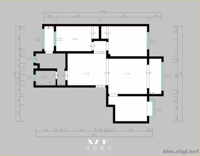 淄川中央福邸木工交底:全房平顶+双层石膏板带,美观又有层次-2.jpg