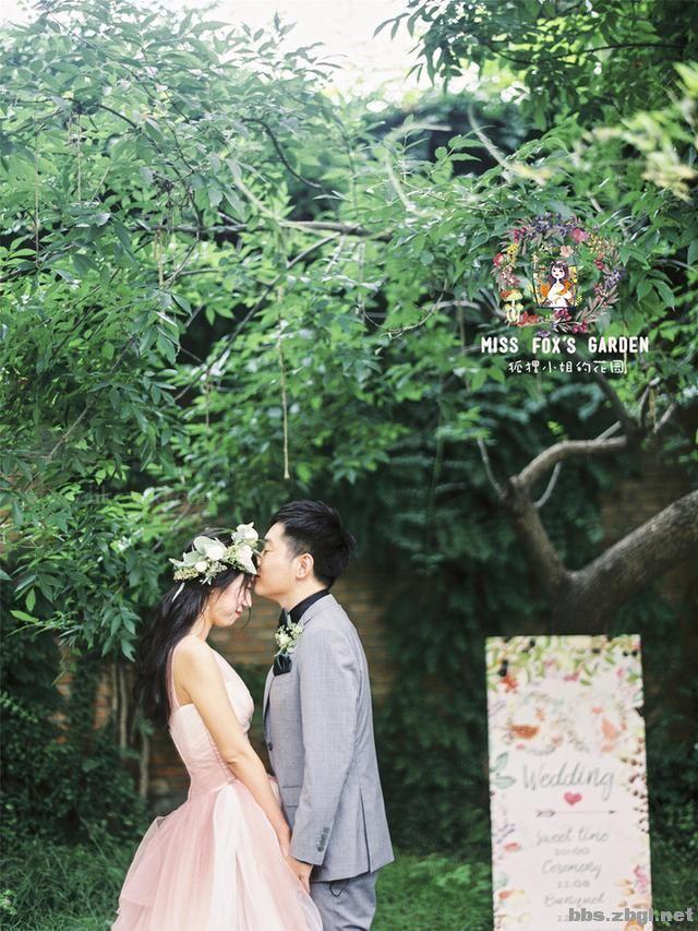 花园小清新婚礼,就像是在自家小院一样舒适惬意!-2.jpg