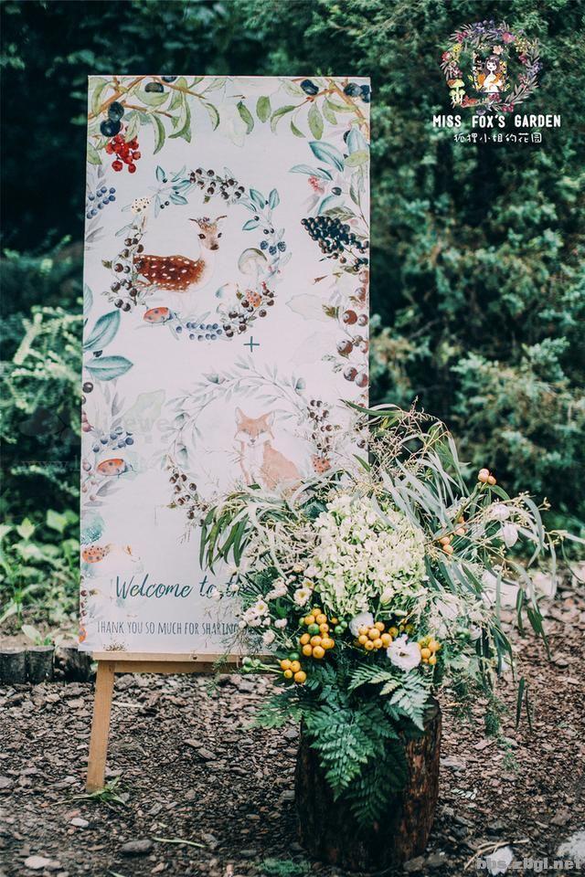 花园小清新婚礼,就像是在自家小院一样舒适惬意!-3.jpg
