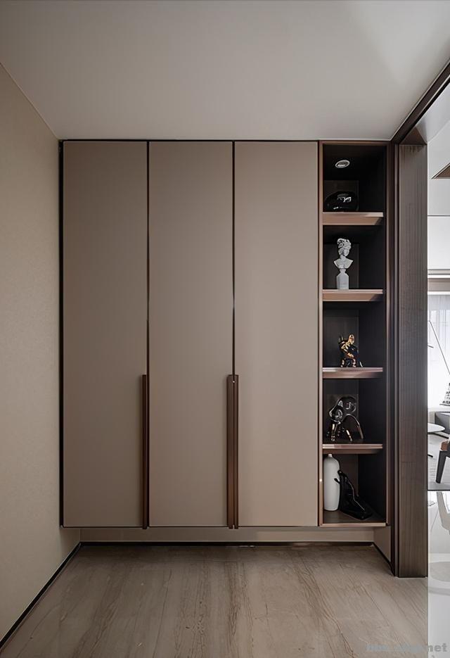 173㎡精装房改造设计案例:把家装成现代轻奢风,打造完美四居室-2.jpg