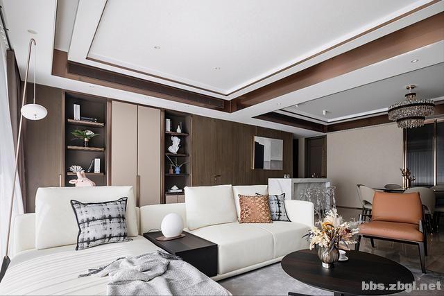 173㎡精装房改造设计案例:把家装成现代轻奢风,打造完美四居室-5.jpg