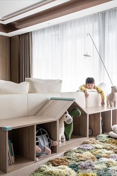 173㎡精装房改造设计案例:把家装成现代轻奢风,打造完美四居室-8.jpg
