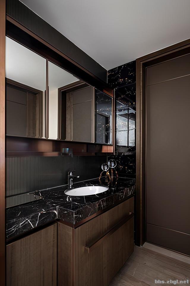 173㎡精装房改造设计案例:把家装成现代轻奢风,打造完美四居室-17.jpg
