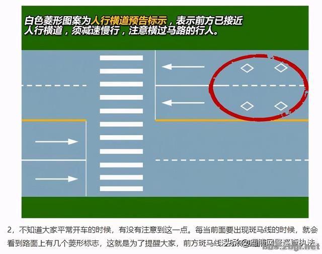 你是菜鸟还是老司机 ?下面的9个交通标线就是测试题!-2.jpg