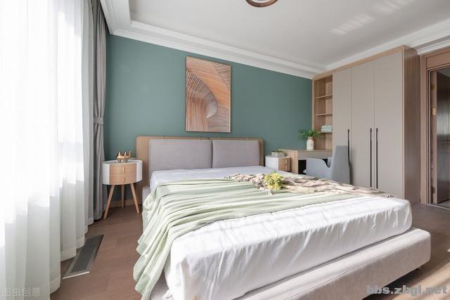 别再考虑用大白墙做床头背景墙了,设计师分享10种,实用还出效果-19.jpg