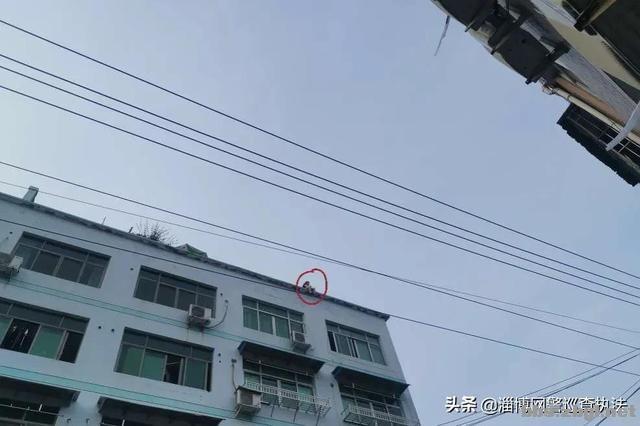 """女子坐上20米高阳台,点名找""""叶警官""""……-1.jpg"""
