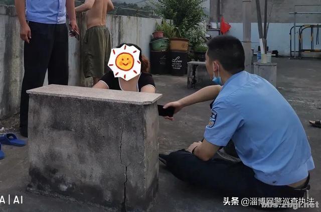 """女子坐上20米高阳台,点名找""""叶警官""""……-3.jpg"""